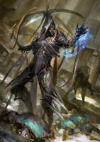 Warframe - Fear the space reaper by theDURRRRIAN