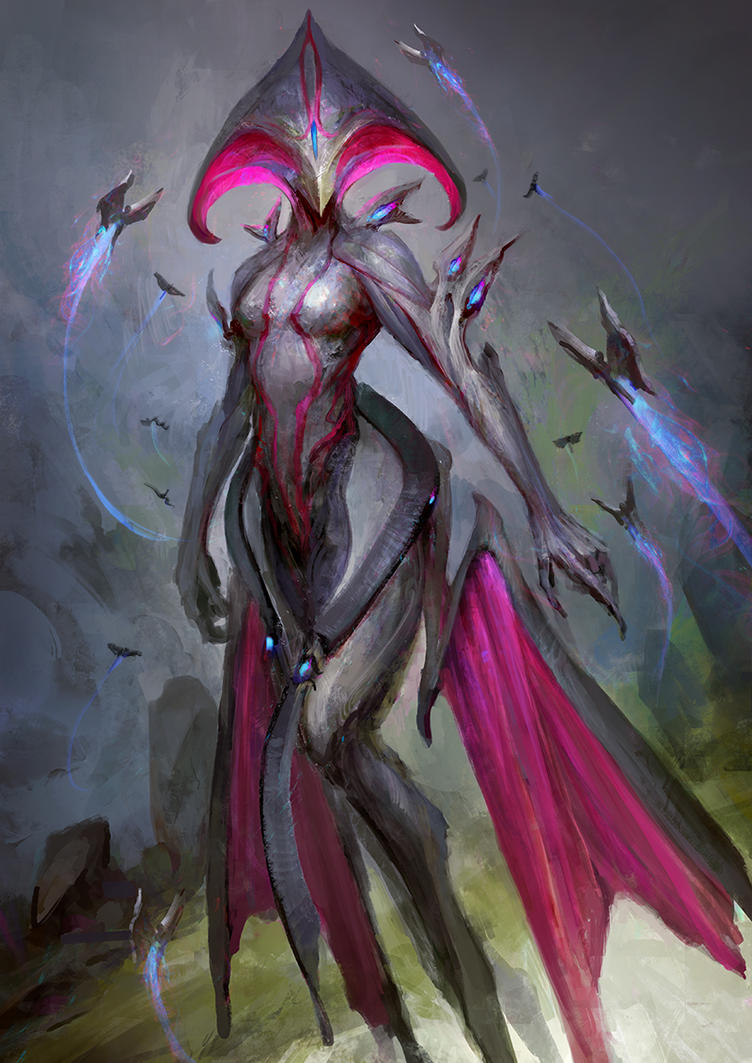 Warframe - Queen of the space fairies by theDURRRRIAN on