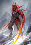 Warframe - Space dragon