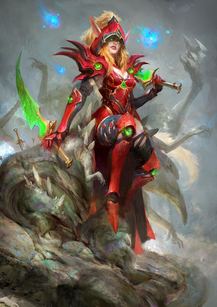 Valeera by theDURRRRIAN