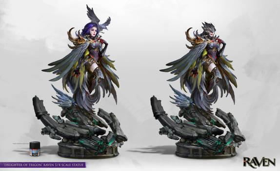 Daughter of Trigon Statue Concept