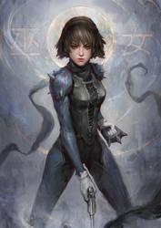 Persona 5 - Makoto Nijima by theDURRRRIAN