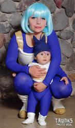 Bulma and trunks baby by sunako-hito