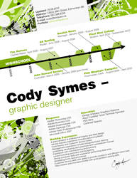 Cody's Resume by CodySymes