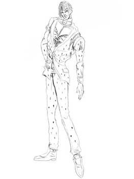 Bruno Bucciarati - sketch