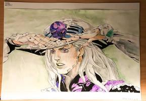 Gyro Zeppeli- fan art by Dollydraw