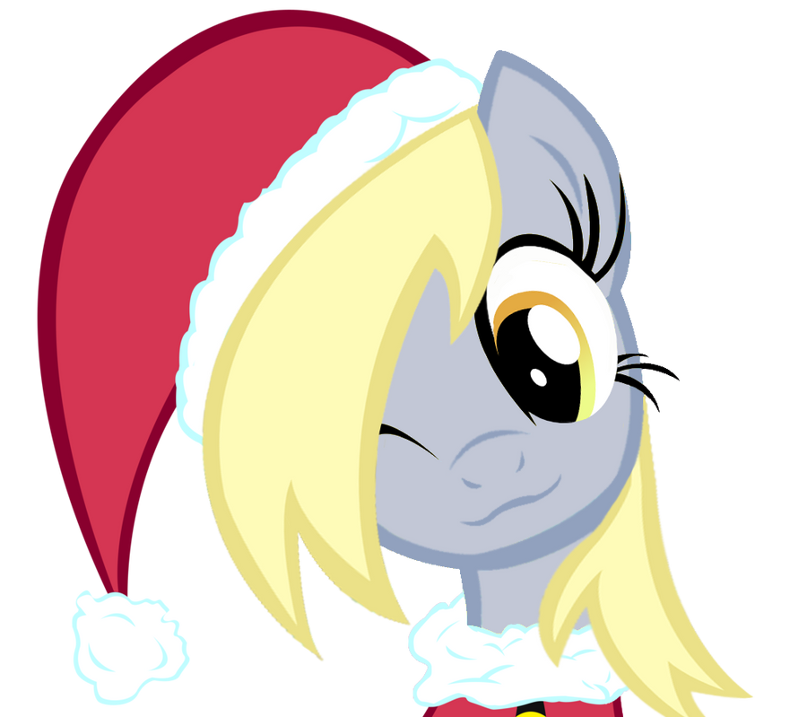 Derpy Christmas by TheMightySqueegee