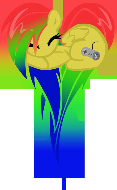 Zoe heart pony by TheMightySqueegee