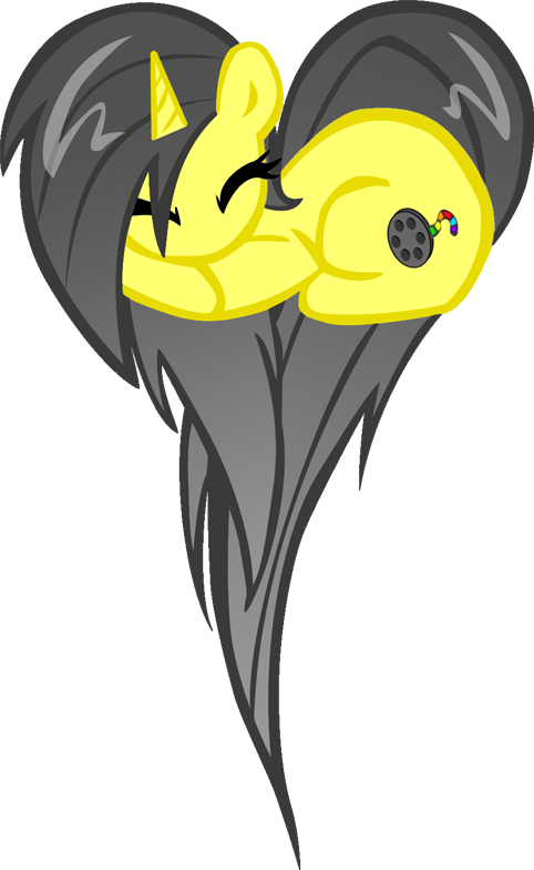 Paulina heart pony by TheMightySqueegee