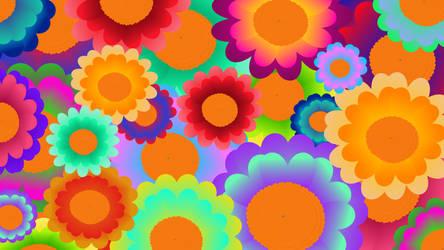 Flower Power Desktop by HariCoelho