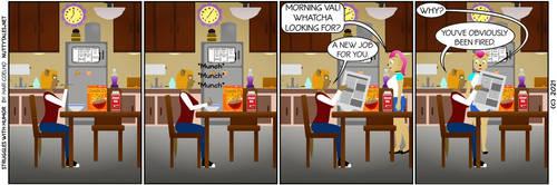 Struggles with Humor 087 by HariCoelho