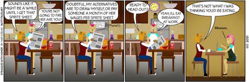 Struggles with Humor 088 by HariCoelho