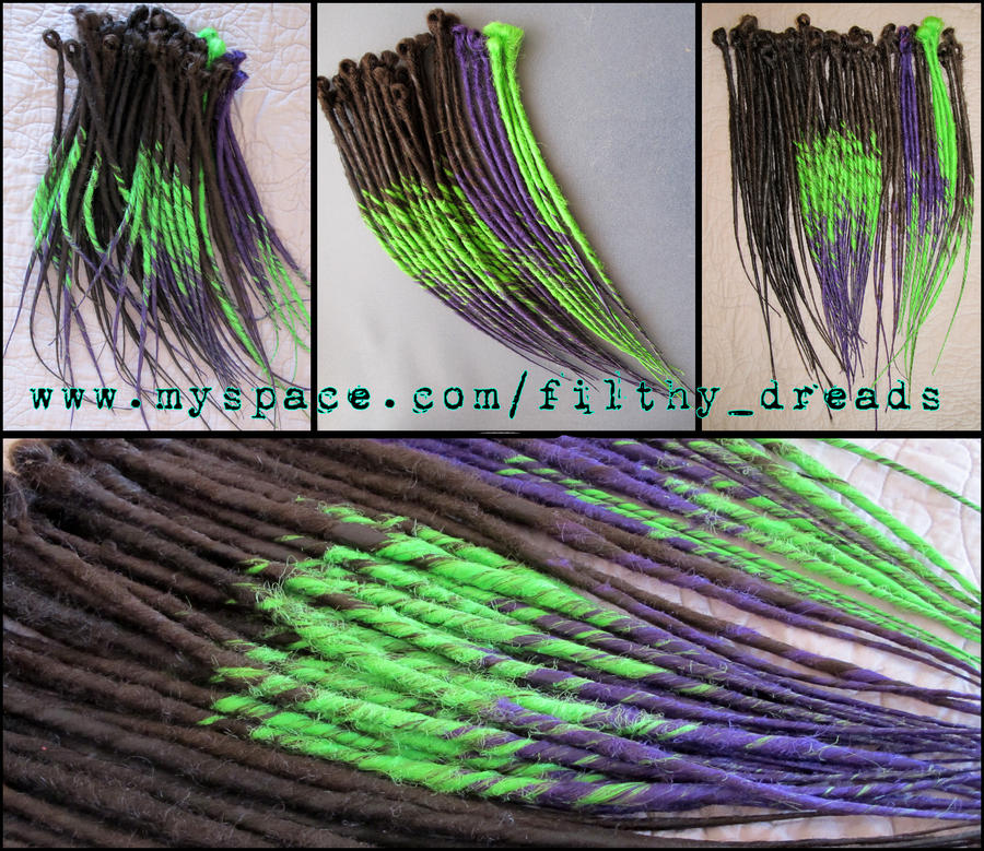 synth dreads 5 by FilthyDreads