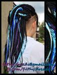 blueblack dreads