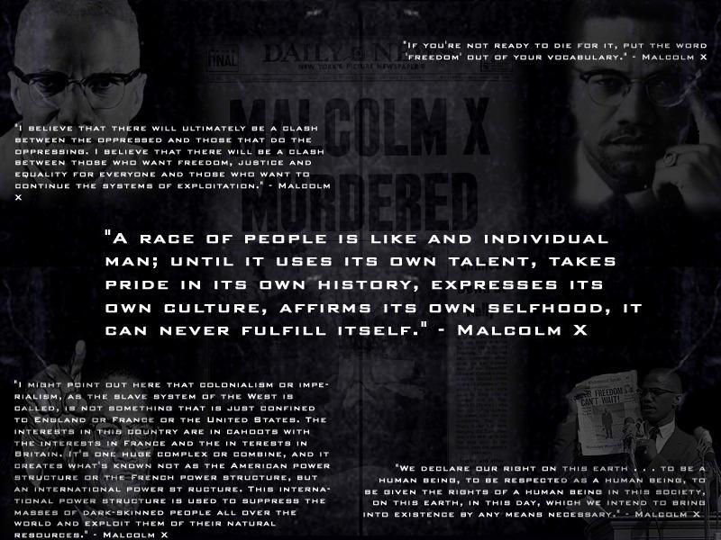 Malcolm X Wallpaper By Dmaabsta
