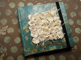 White flowers by Kaoru-tian