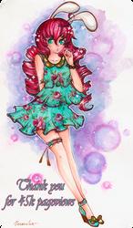 Thank you for 45k Pv by Kaoru-tian