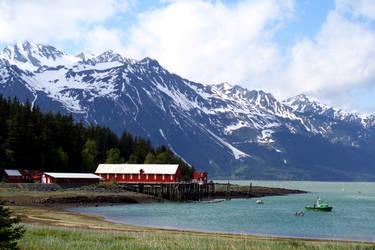 Alaskan Landscape by XxQuothTheRavenxX