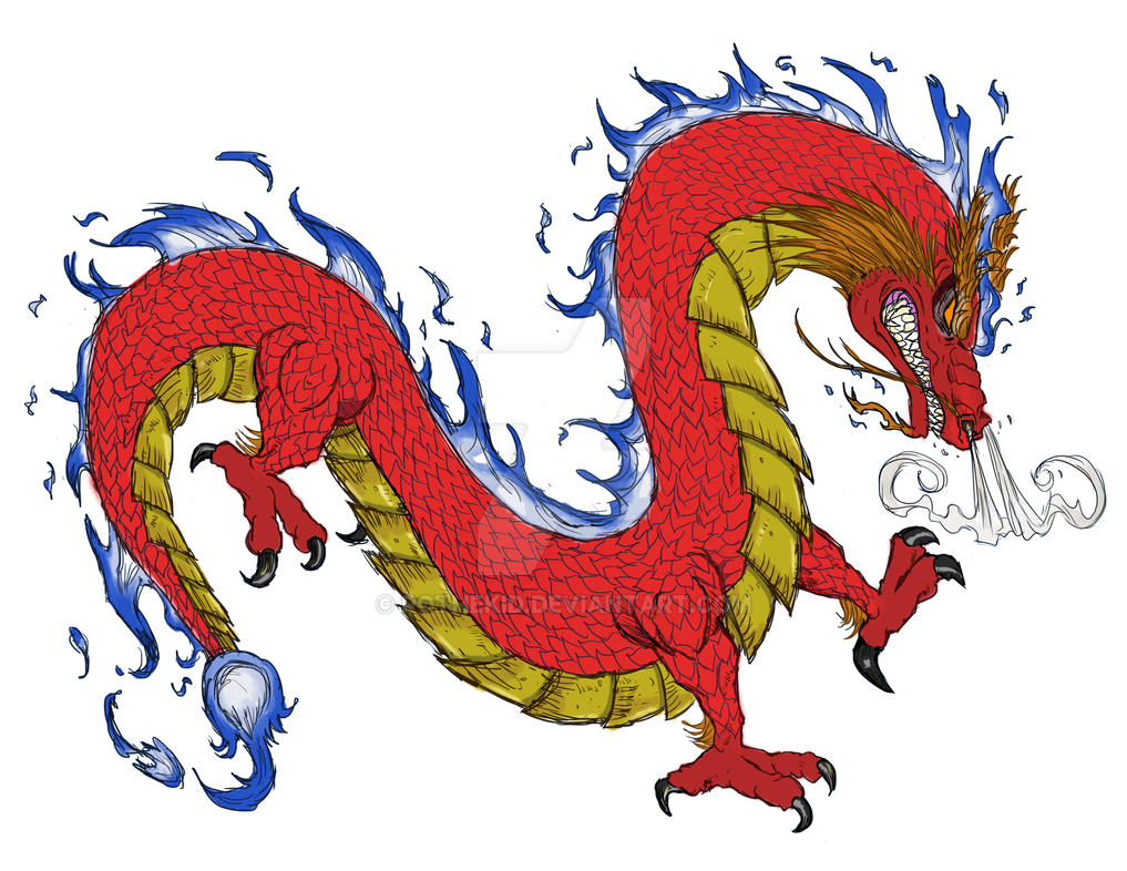 Chinese Dragon by RoTheKid