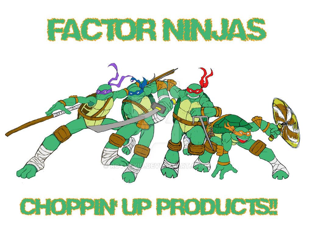 TMNT Factor Ninjas by RoTheKid