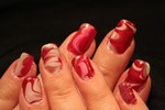 Valentine Water marble by icetears