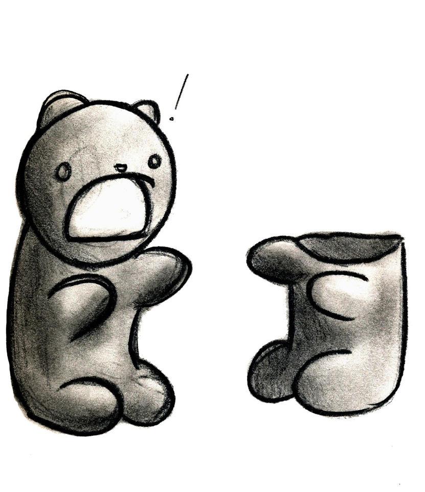 Gummy bear drawing - photo#9