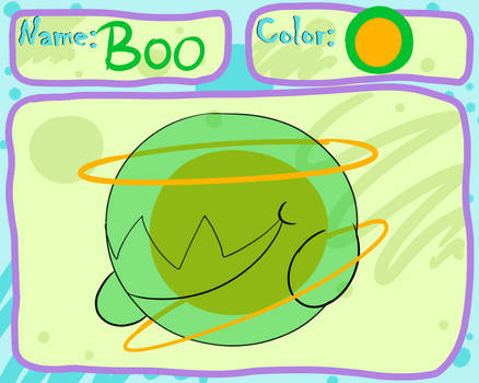 boo blob by Rosedraq