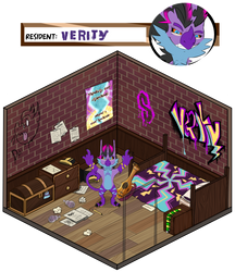 Verity in the house by Rosedraq