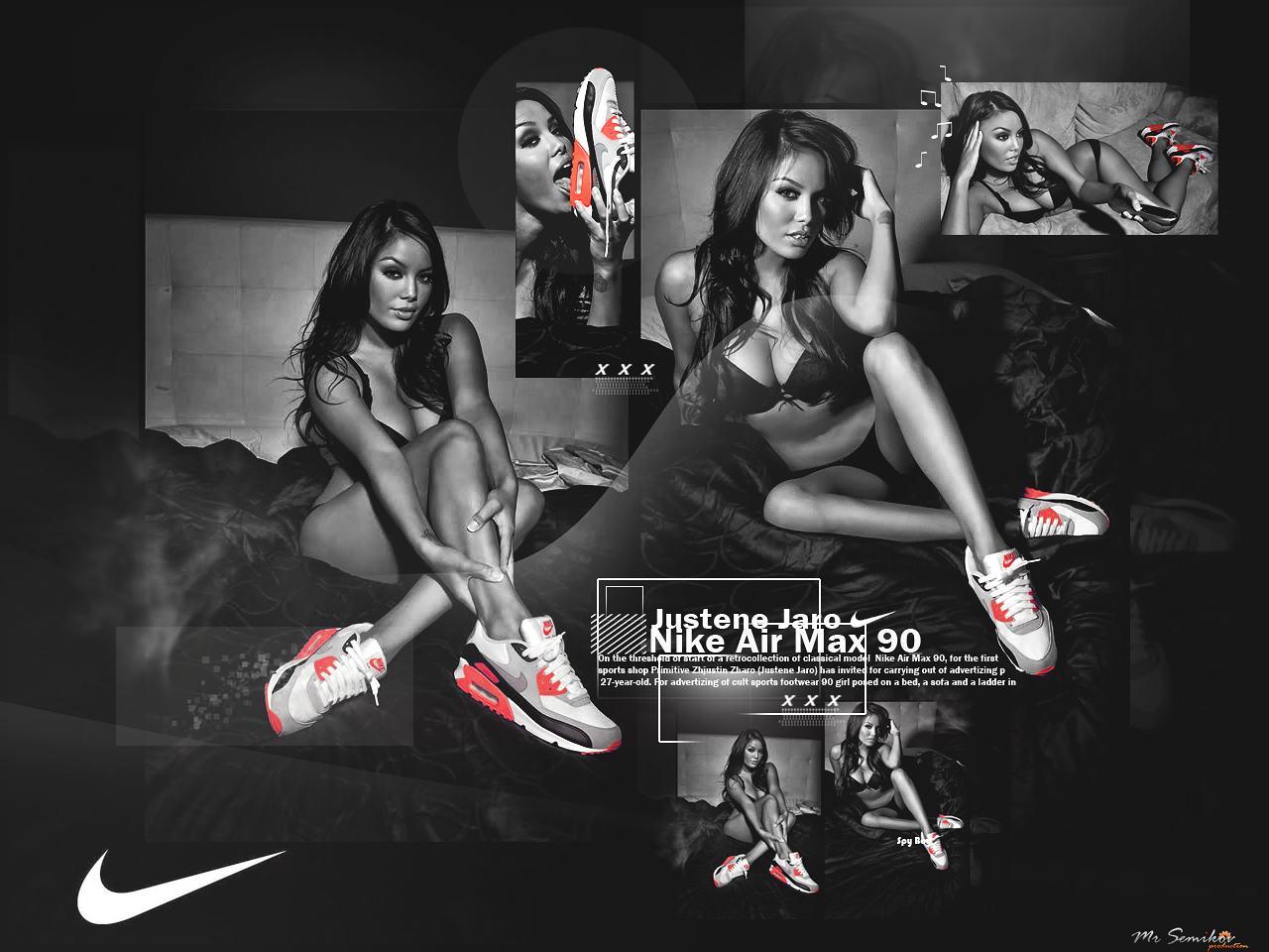 verbo Apéndice absceso  Justene Jaro Nike Air Max 90 by SoccerGFX-Clips-ru on DeviantArt