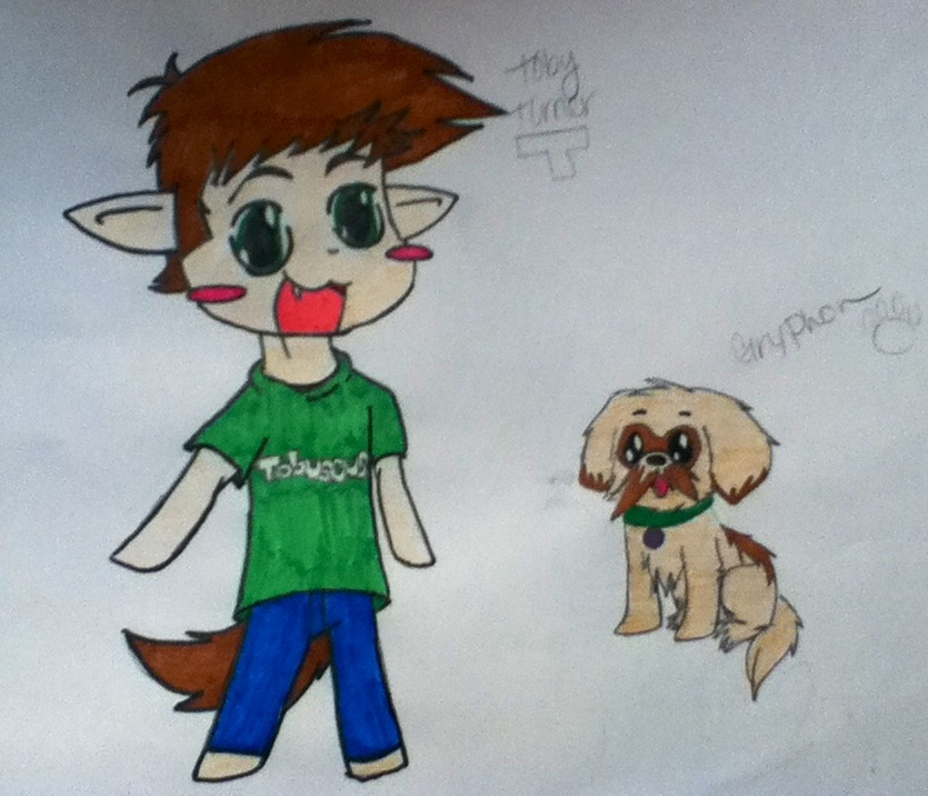 Animated Gryphon Tobuscus