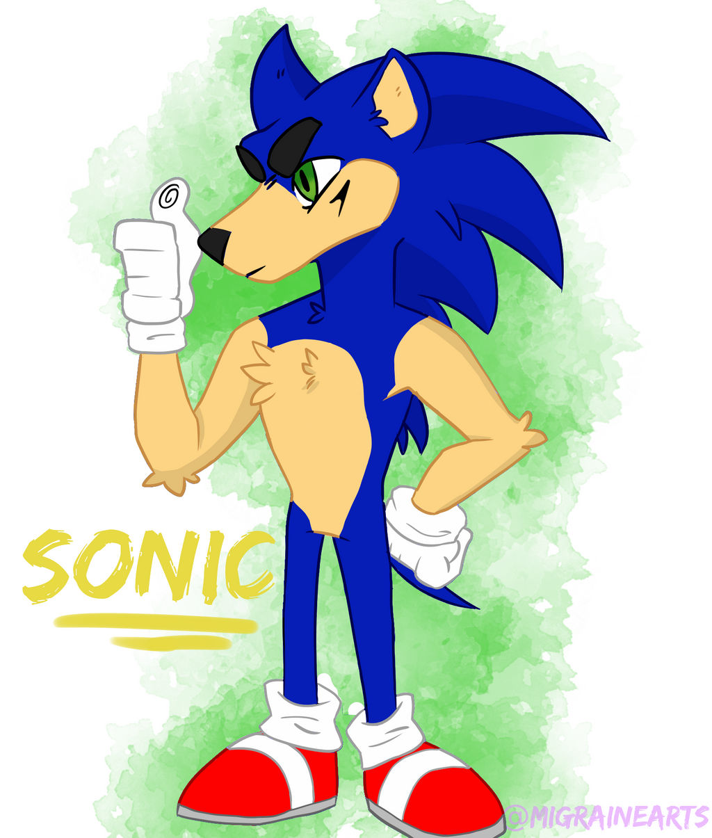 Sonic The Hedgehog Fanart By Migrainearts On Deviantart