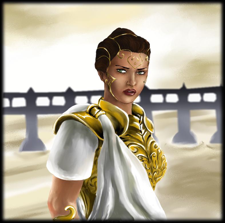 Athena by mevsk on DeviantArt