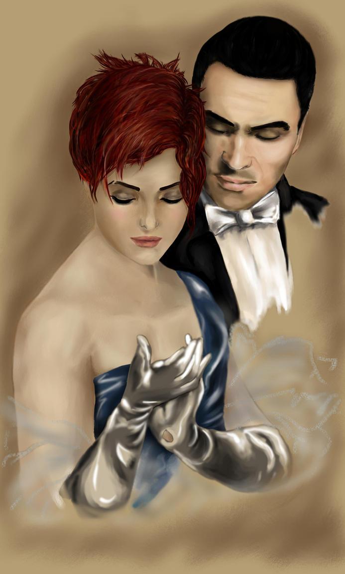 Victorian romance by mevsk