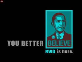 NWO - Obama by limun7