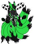 Rivaji the kyubimon (anthro)