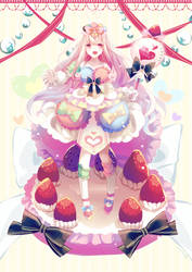 Princess macaron by FiliaNanna