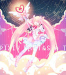 The Magical girl Purticle