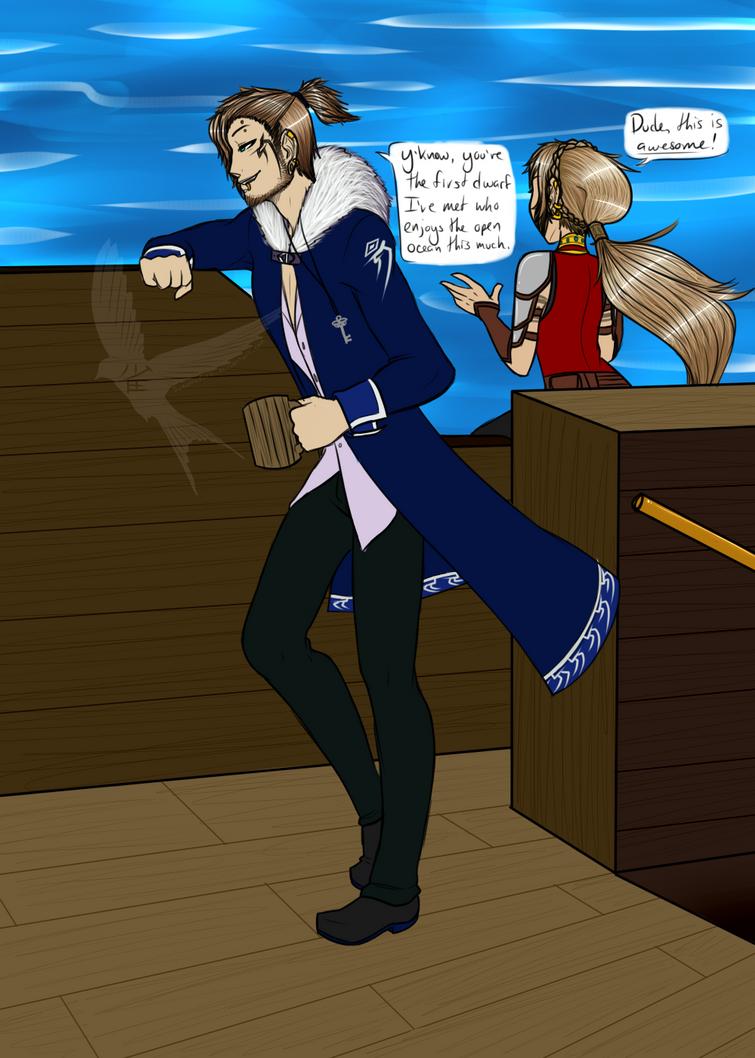 Captain Aidan Labrosse by SuzumeKirei