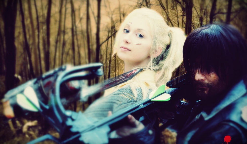 The Walking Dead Daryl and Beth PREVIEW Cosplay by Kaorulein
