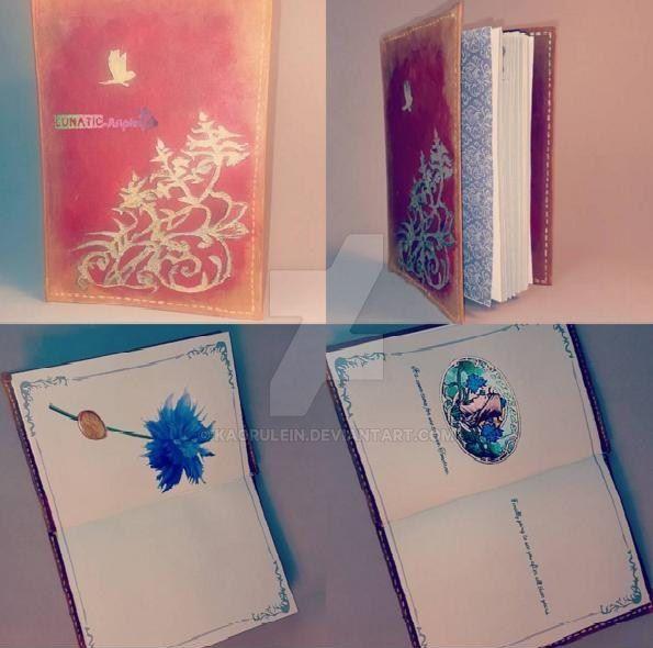 Lunafreya's Notebook FFXV by Kaorulein