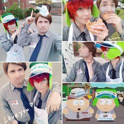 Ass Burgers aka Cartman Burger Cosplay