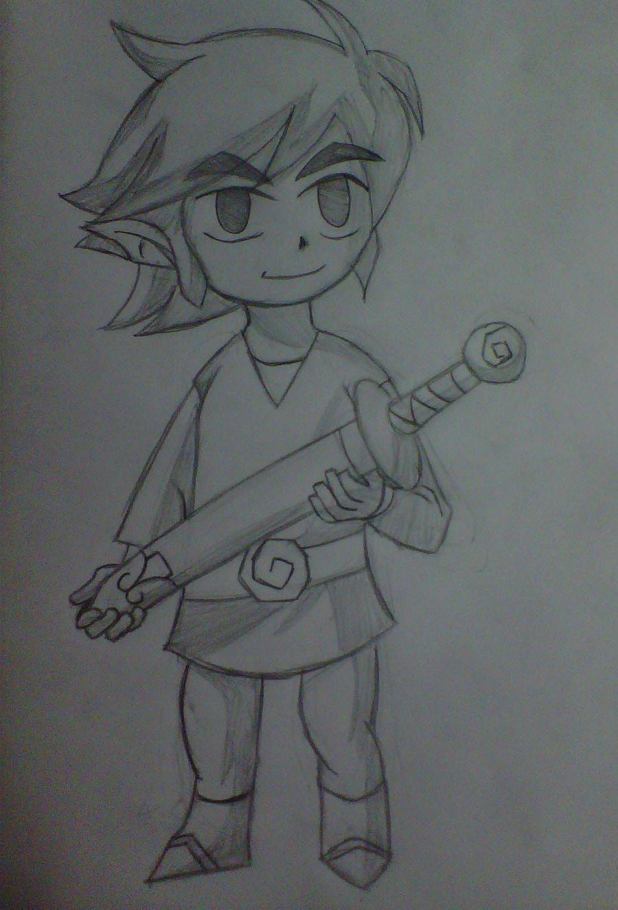 Link Dibujo by juli95