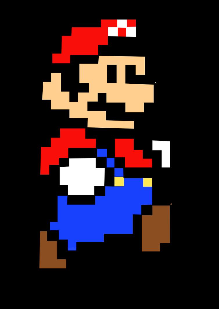 mario pixel by juli95 on deviantart