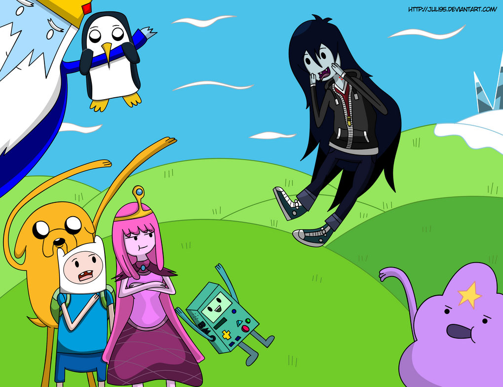 Adventure Time Big Drawing by juli95