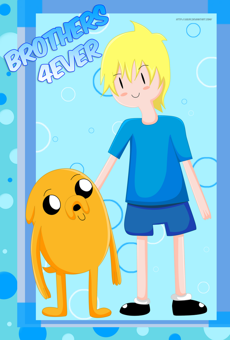 Cute Jake and Finn by juli95
