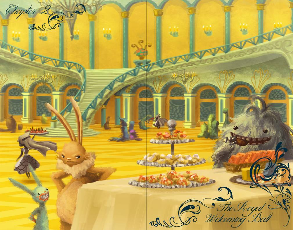 The Royal Welcoming Ball by ebonysnowwhite