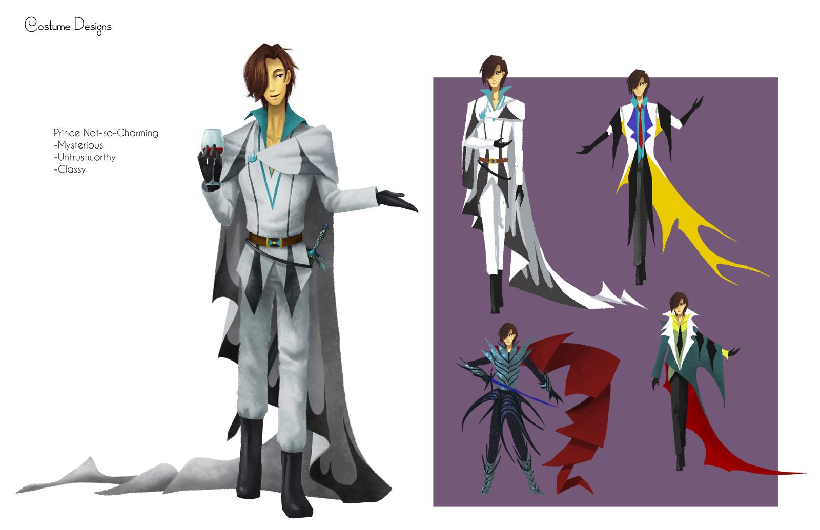 the prince costume designs by ebonysnowwhite on deviantart