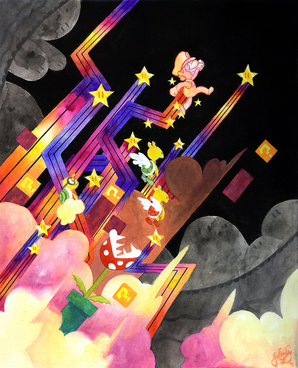Star Power by ebonysnowwhite