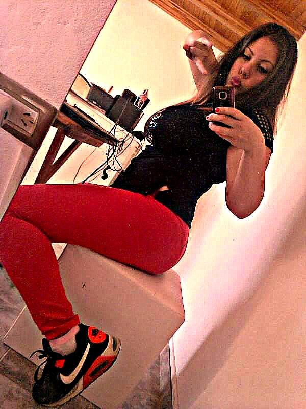 selfie de la vida cotidiana :P by ayelenperezlindo