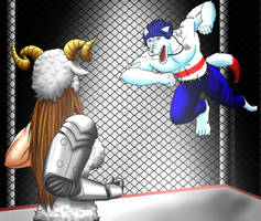 Commission: Cage Match